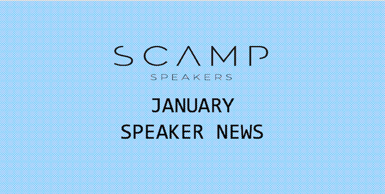 Speaker News – January 2020