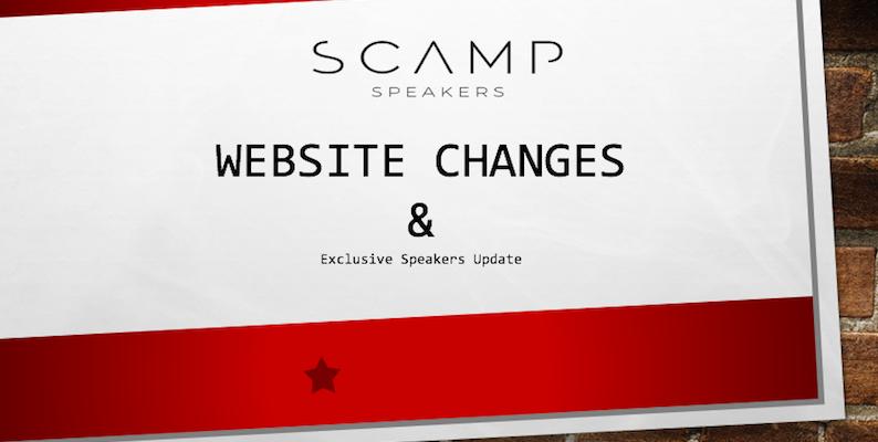 Website Update & Exclusive Speakers