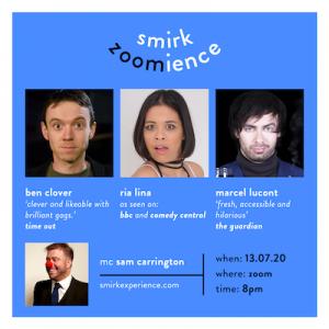 Smirk Comedy Line up