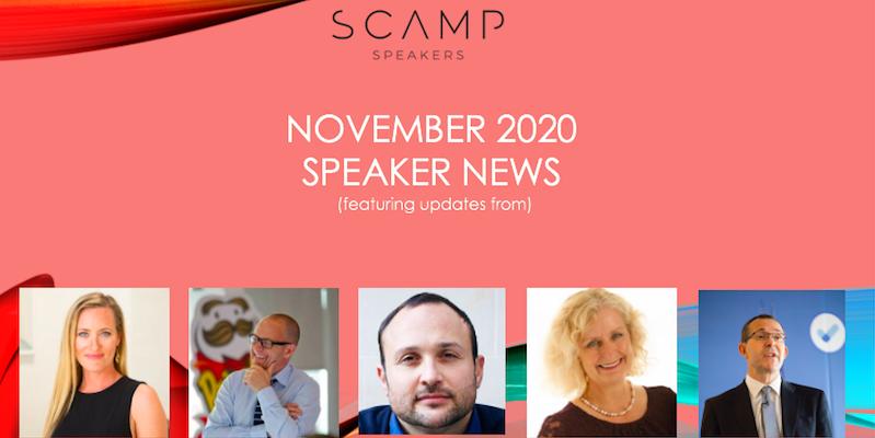 November 2020 Speaker News