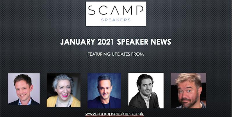 January 2021 Speaker News
