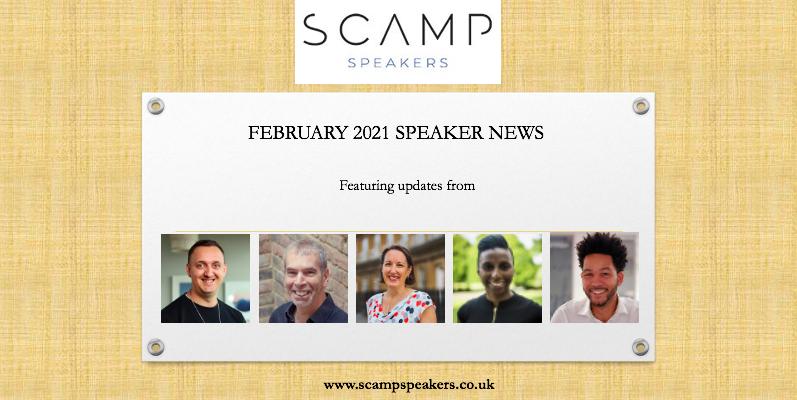 February 2021 Speakers News