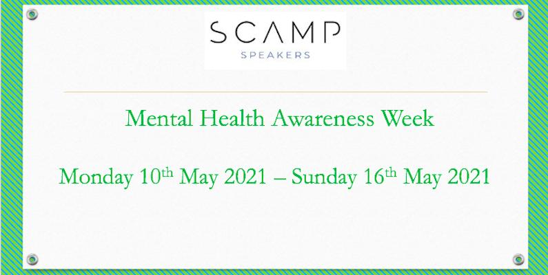 Mental Health Awareness Week Speakers