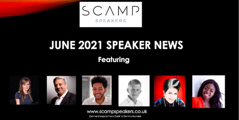 June 2021 Speaker News