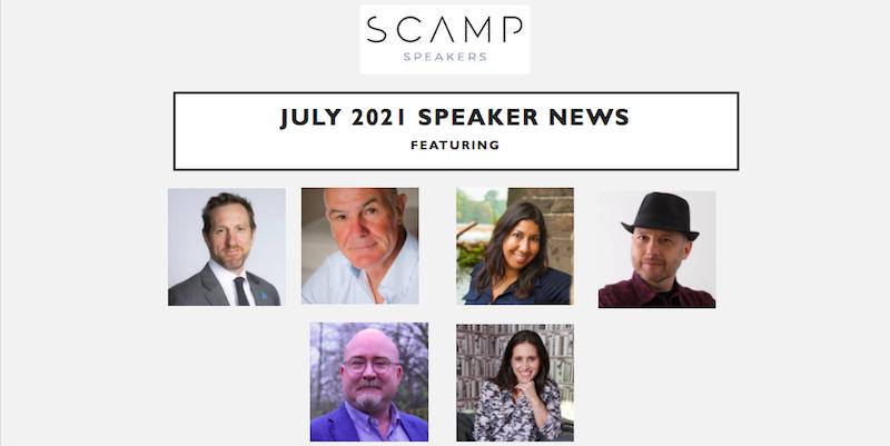 July 2021 Speaker News