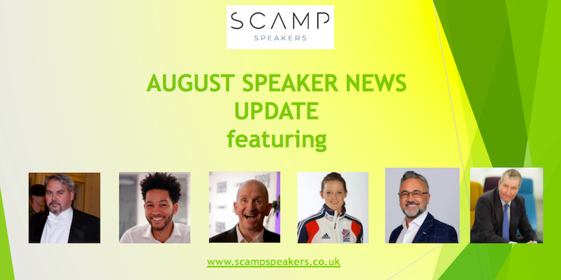 August 2021 Speaker News Update