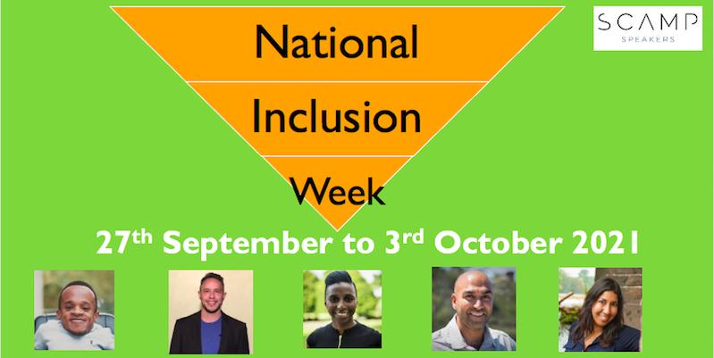 National Inclusion Week Speakers