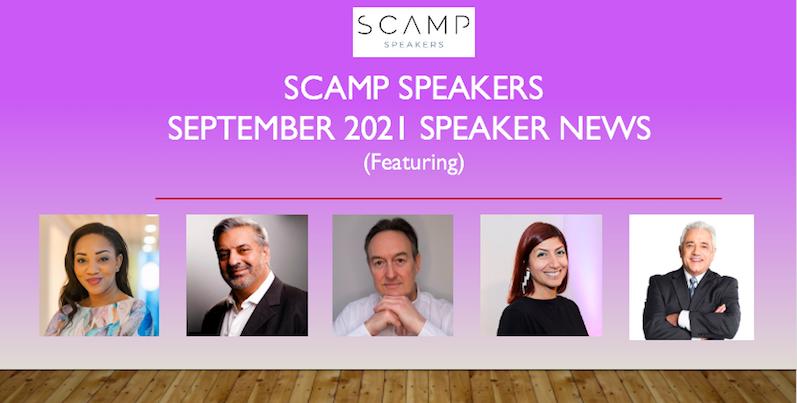 September 2021 Speaker News