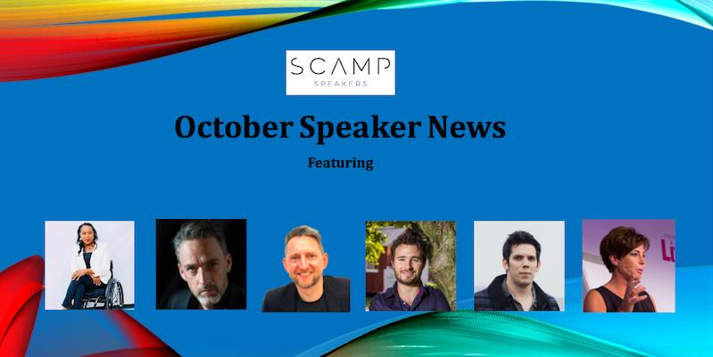 October 2021 Speaker News